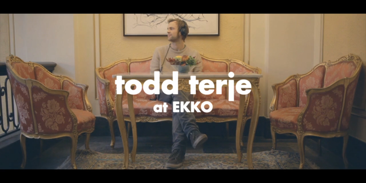 New Shit From Bergen: Todd Terje – Ekkofestivalen 2012