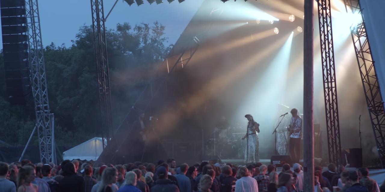 Broen: Video fra Roskilde