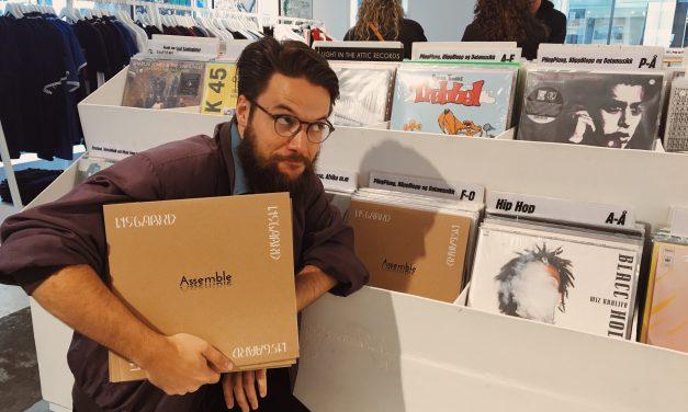 Debutplaten til Lysgaard, Assemble, er her på vinyl!