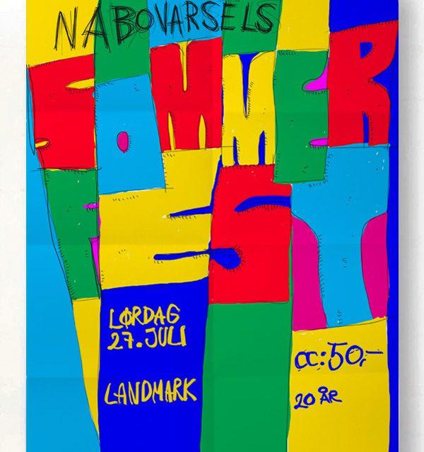 NABOVARSEL: SUMMER PARTY