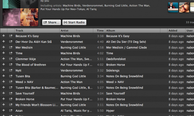 """Spotify: A big welcome to """"nabovarselbergen"""""""