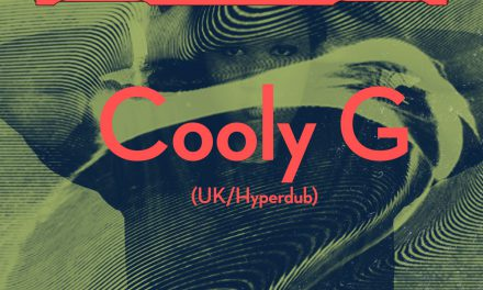 NABOVARSEL: Cooly G (UK / Hyperdub)