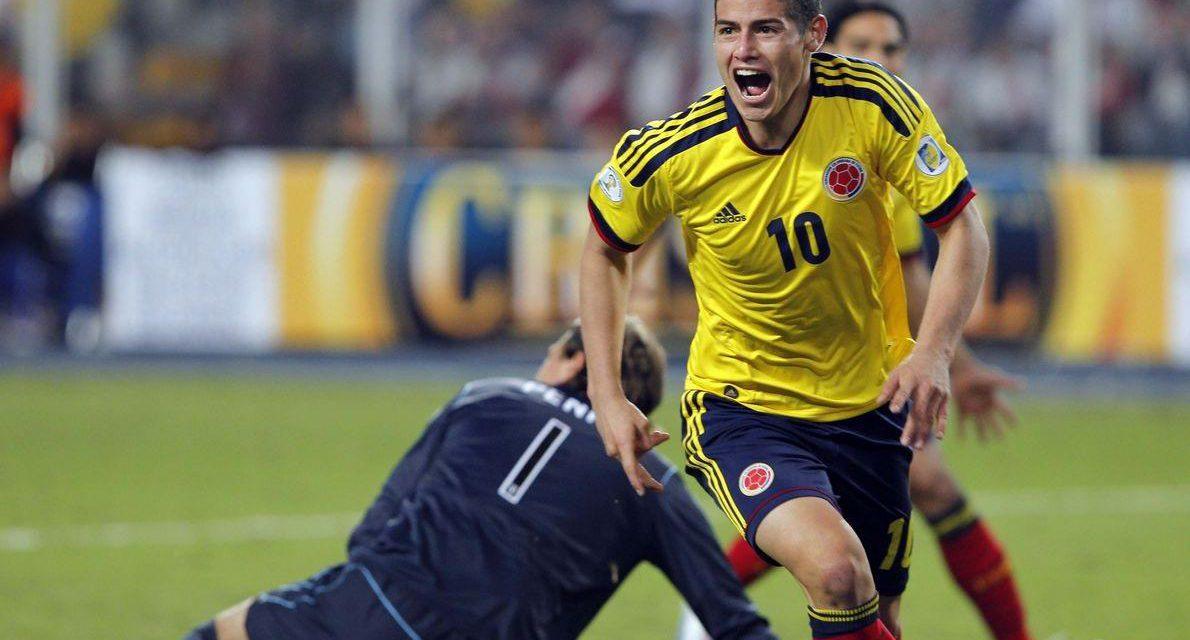 Colombia 10: James Rodríguez