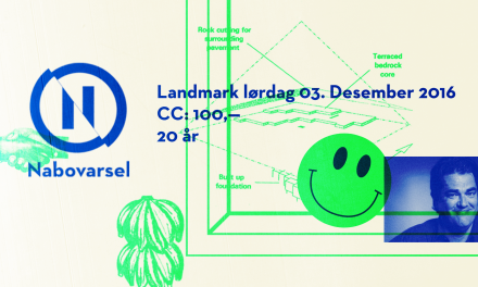 Nabovarsel: RAVE #2 — Landmark lørdag 03. desember!